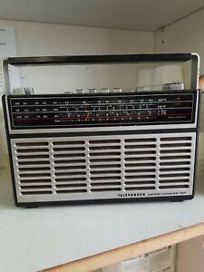 Retro-Transistorradio Telefunken Partner Universal 501, Kofferradio, 1975