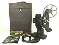 Bell & Howell Filmo 8 Model 122 A Vintage 8mm Film Projector with Case & More