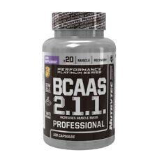 BCAA R2.1.1 500mg NUTRYTEC  100 caps Aminoacidos ramificados bcaas