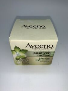 Aveeno Positively Radiant Intensive Moisturizing Night Cream 1.7 oz