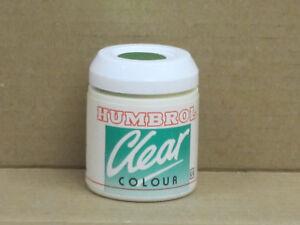 Humbrol Clear Colour grünmetallic, 12 ml, unbenutzt, für Airbrush / Pinsel