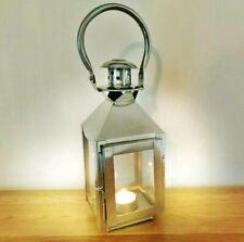 Stainless Steel Hanging Candle Lantern Floor Table Centerpiece Metal Garden