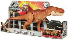 JURASSIC WORLD Attack Pack ~ THRASH N Gettare Tyrannosaurus Rex Dinosauro T-REX