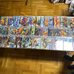 Marvel Comics Ultimate Fantastic Four 1 - 60 PLUS ANNUAL 1 2 LOT OF 58 COMICS