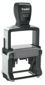 trodat 5203 Professional Self-Inking Stamper ONLY MACHINE WITH STAMP PAD