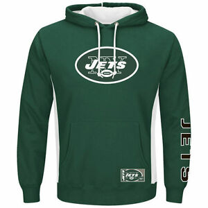 NFL New York Jets Men's Green Passing Game IV Pullover Hoodie Jacket