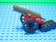 Lego Legos - New Dark Pearl Gray Shooting Cannon with Base and Wheels