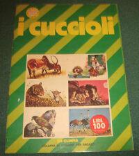 """Album """" I CUCCIOLI """" Edizioni Olimpia / Anno 1976"""