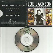 JOE JACKSON Shape in a Drape 2 LIVE MINI 3 INCH CD single CD3 Preston TUCKER Car