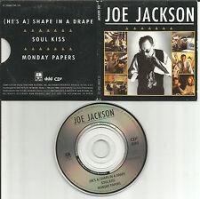 JOE JACKSON Shape in a Drape 2 LIVE MINI 3 INCH CD single CD3 Preston TUCKER Car