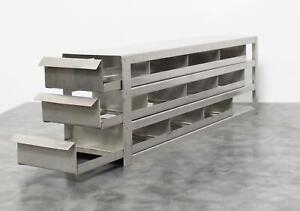 Upright Freezer Rack 3 Drawer Holds 12x 2Inch Freezer Boxes with 90-day Warranty