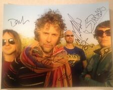 THE FLAMING LIPS Complete Band Signed 11x14 WAYNE COYNE