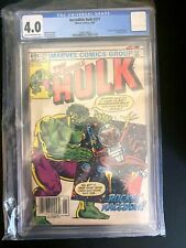 Incredible Hulk #271 CGC 4.0 20th Anniversary 1st Rocket Raccoon Marvel Comics