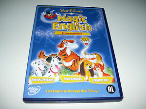 Walt Disney Magic English - Dieren Ontdekken DUTCH SPANISH ITALIAN GERMAN FRENCH