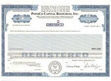 SELTEN:  PepsiCO Capital Resources Inco   Pepsi Cola