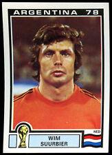 Argentina 78 Wim Suurbier #112 World Cup Story Panini Sticker (C350)