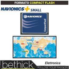 NAVIONICS+ SMALL CARTOGRAFIA COMPACT FLASH NAUTICA PER ECOSCANDAGLIO BARCA VELA