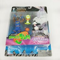 *NEW IN BOX* Space Jam Patrick Ewing W/ Pepe Le Pew and Bang Action Figure RARE
