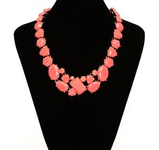 Kate Spade Women's Coral Gold Plated Bib Necklace 0565