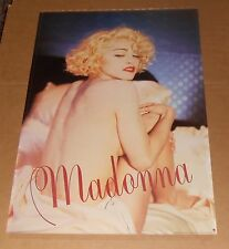 Madonna Poster 1989 Original Promo 27x39 Nude