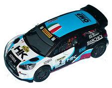 CITROEN DS3 WRC  RE RALLY ELBA 2014  DECALS 1/43