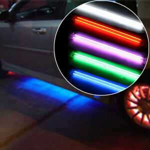 2PCS 12V CCFL Cold Cathode Tube Car Undercar Underbody Neon Kit Lights