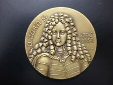 Monarchy King John V of Portugal The Magnanimous Matapan Battle/Bronze Medal M67