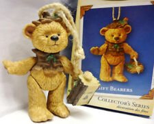 Hallmark 2004 Gift Bearers 6th in Series Porcelain Jointed Bear Ornament New