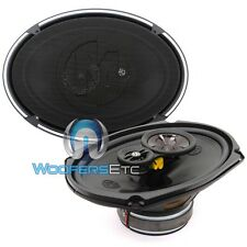 "MEMPHIS 15-PRX693 6"" X 9"" CAR AUDIO 3-WAY PEI DOME TWEETERS COAXIAL SPEAKERS NEW"