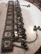 Fine Yemenite Silver Jewish Wedding Belt. Circa 1800s Yemen.Rare Museum Artifact