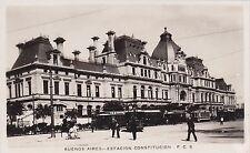 ARGENTINA - Buenos Aires - Estacion Constitucion - Photo Postcard