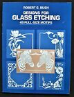 Stained Glass Pattern Book - DESIGNS FOR GLASS ETCHING