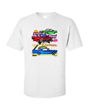 1958-1960 Ford Skyliner Retractable Classic Car T-shirt Single OR Double Print