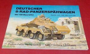 WA 92 Deutscher 8-Rad-Panzerspähwagen der GS-Baureihe