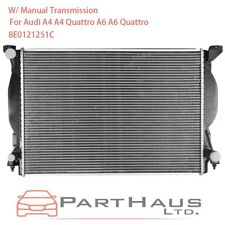 Radiator (W/ Manual Trans) for Audi A4 A4 Quattro A6 Quattro 3.2L&3.0L 02-08