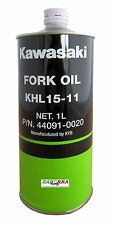 OLIO FORCELLE KAWASAKI OIL FORK FRONT KHL 15-11 - 44091-0020 MADE IN KYB 15W