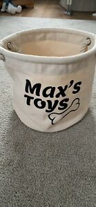 "Personalised ""Max"" Dog Toy Bag"