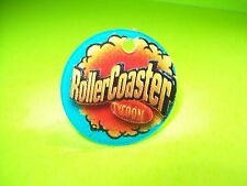 Stern ROLLER COASTER TYCOON Original Pinball Machine Promo Plastic Key Chain