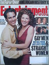 ERIC McCORMACK & DEBRA MESSING  GAY MEN & STRAIGHT WOMEN 1998 ENTERTAINMENT WKLY