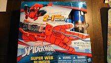 Spiderman Marvel 2 in 1 SUPER web di centrifugazione Blaster con Guanto