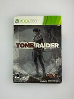 Tomb Raider Steelbook Edition - Xbox 360 Game - Complete & Tested