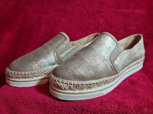Jimmy Choo Women's Gold Espadrilles Size 5/38