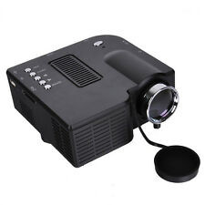 UC28 Pocket Projector 48 LUX Cinema Theater PC Laptop VGA/USB/SD/AV/HDMI Input