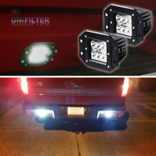 US (2) Dually Flush Mount 24W CREE LED Pod Lights For Truck Jeep Off-Road ATV