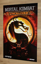 Mortal Kombat Armageddon / Unchained Rare Poster 58x39cm PS2 PSP Xbox Wii