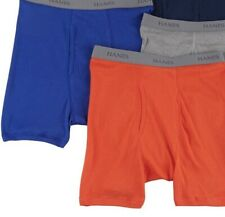 Hanes Toddler Boys 2-Pack Solid Tagless Boxer Briefs