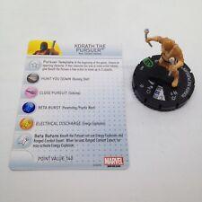 Heroclix Guardians of the Galaxy set Korath the Pursuer #021 Uncommon w/card!