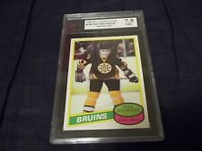 1980-81 OPC O-Pee-Chee #140 Ray Bourque Rookie Boston Bruins - KSA 7.5 NM+