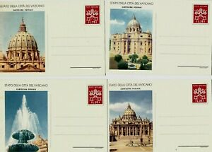 T68 Vatican ps stationery pope religion early ganzsachen cartolina postale
