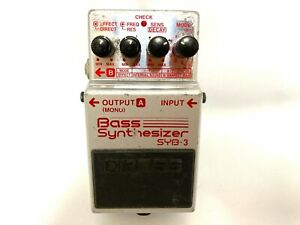 Boss SYB-3 Bass synthesizer Effects Pedal from Japan Tested and Working